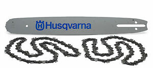 Husqvarna 455 460 Others18 Chainsaw Bar And 2 Chains 3 8 Pitch 058 Gauge Oem