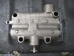 1970 Oliver 1755 1955 Diesel Farm Tractor Hydraulic Valve Free Shipping