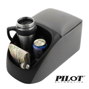 Pilot Universal Center Bench Seat Console With Cup Holders 9 75 X 10 X 16 75