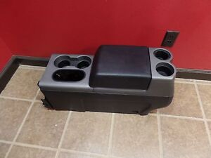 04 08 Ford F 150 F150 Front Middle Console Seat Oem Black Fx2 Fx4 Street Rod