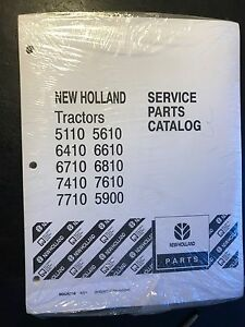 New Holland Tractors Service Parts Catalog 5110 5610 6410 6610 6710 7410 7710 59