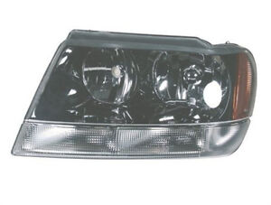Right Side Passenger Headlight For Jeep Grand Cherokee Ii Wj Wg Alkar