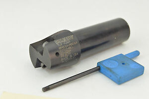 Valenite Indexable Carbide Insert End Mill 1 Dia 3 4 Shank Cyclo Mill
