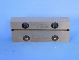 Ina V4020 15 M4020 15 V groove Linear Guide Bearing Set 40 Mm X 20 Mm X 100 Mm