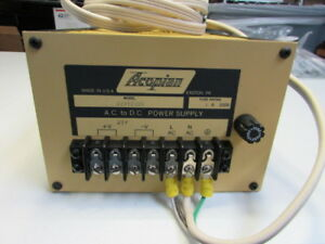 Acopian Gold U24y2300 Ac dc Single Output Power Supply With Cable Ul Usa