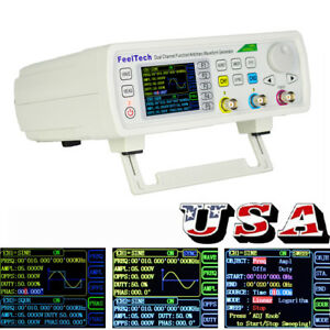Fy6600 Feeltech 60mhz Function Arbitrary Waveform Pulse Dds Signal Generator Us