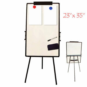 Large Office Whiteboard Proffesional Dry Erase Magnetic Marker Universal Easel
