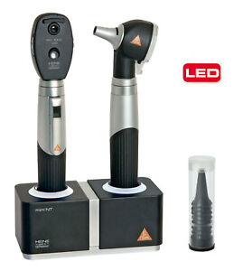 Diagnostic Set Heine Mini 3000 With F o Led Otoscope And Led Ophthalmoscope