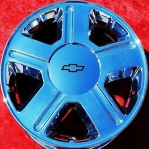 Set Of 4 Chrome 17 Chevrolet Trailblazer Factory Oem Wheels Rims Gmc Envoy 5179
