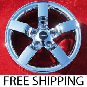 Set Of 4 Chrome 18 Ford F 150 Lightning Oem Factory Wheels Rims Expedition 3420