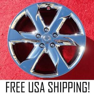 Set Of 4 Chrome 18 Oem Factory Wheels Rims For Nissan Murano 62517