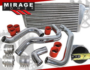 31 Intercooler Piping Kit Red Couplers For Nissan 240sx 180sx 89 94 Ca18det