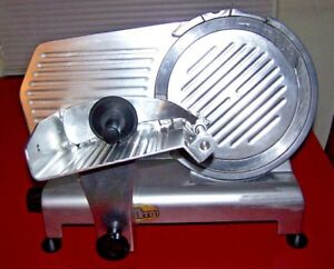 Commercial Meat Slicer Avantco 250es 10 Missing Sharpener Euc