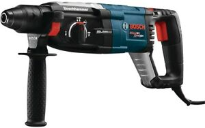 Bosch 8 5 Corded Sds plus Variable Speed Rotary Hammer Drill Aux Handle And