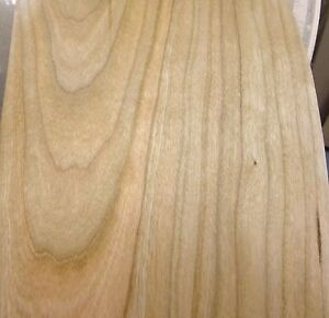 Cherry Wood Veneer Edgebanding 5 1 2 X 120 No Adhesive On Fleece Back 1 50th