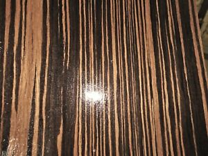 Macassar Ebony Composite Wood Veneer 48 X 96 On Paper Backer 1 40th efw