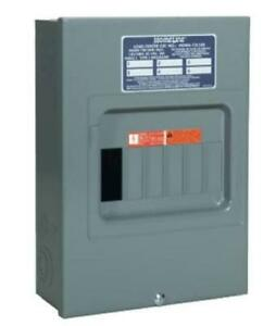 Square D Hom612l100scp Indoor Main Lug Load Center 100 Amp