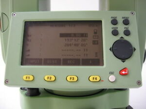 Leica Tc410c 10 Total Station Only For Surveying One Month Warranty