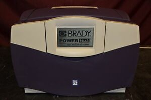 Brady Powermark Sign And Label Maker B With Keyboard Fully Tested