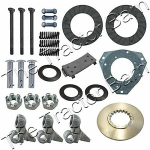 Complete Clutch Kit For John Deere 50 520 530 Rebuild Repair Overhaul