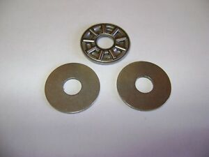 Axk0619 Thrust Needle Roller Bearing With Two Washers 6mm X 19mm X 2mm Frd182