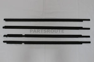Toyota Land Cruiser Prado Lexus Gx470 Oem Front Rear Door Belt Moulding 03 09