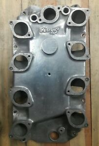 Bbc Sharp Intake Manifold Ida Aluminum Rectangle Port