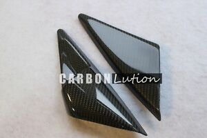 Carbon Fiber Mirror Switch Trim For Porsche 996 986 Boxster Carerra Turbo Gt3