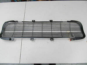 62 Corvette Black Front Grill New Exact Replica Grille Anodized As Gm Origina