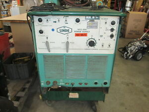 Linde Model Ucc 305 208 230 460v 1ph 300 Amp Arc tig Welder W footpedal