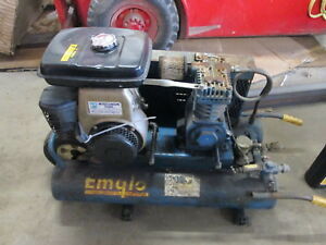 Emglo Products 125 Max Psi Portable Gasoline Air Compressor W air Cooled Engine