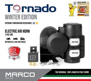 Marco Tornado Winter Edition Dual Tone Air Horn Super Loud Car Motorcycle Truck