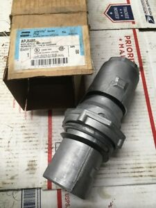 New Eaton Crouse Hinds Apj6485 Arktite Plug 60 Amp 3 Wire 4 Pole Nema 4 5485