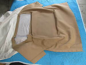1961 62 Corvette Beige Tan Convertible Pads Stayfast Mercedes Type Material