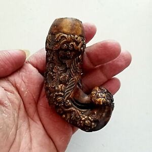 Unique Vintage Handle Hilt Kris Jamur Wayang Indonesia Balinese Keris Sk798