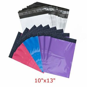 100 10 x13 Poly Mailers Shipping Envelopes Self Sealing Plastic Mailing Bags