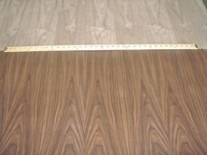 Walnut Wood Veneer 48 X 120 With Paper Backer 1 40 Thickness A Grade Quality