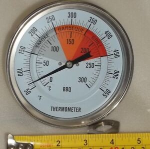 5 Bbq Pit Smoker Grill Thermometer Temperature Gauge Barbecue Gas Wood Charcoal