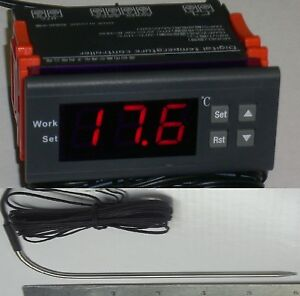 Time Temperature Controller Thermostat Charcoal Bbq Grill Pit Smoker Cajun 30amp