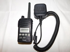 Icom F50v F50 Vhf 128 Channel Portable Radio Fire Pager Police Ems Cp200 Pr400