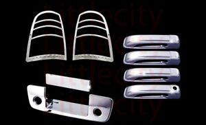 Dodge Ram 1500 2500 2011 14 15 17 Chrome Door Handle Tail Lights Tailgate Covers