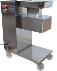 High Quality Qe Stainless Commercial Meat Slicer With 5mm Blade New
