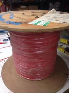2000ft 14 Awg High Temperature Lead Wire Plated Silicone Glass Braid 150c 600v