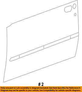 Jeep Chrysler Oem 08 12 Liberty Door Skin Outer Panel Right 55396994aa