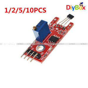 1 2 5 10pcs Linear Module Hall Magnetic Standard For Arduino Avr Pic Ky 024