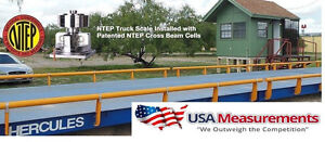 Usa Measurements 20 X 10 Ft Truck Scale 100 000 Lb Steel Deck Ntep Approved
