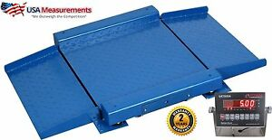 3x3 Drum Scale Floor Scale Ramps 5 000 Lb Legal For Trade Op 921