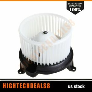 Ac Heater Blower Motor With Fan Cage 27226zh00a For Nissan Armada Titan 05 15
