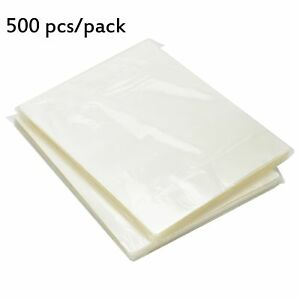 500 Letter Size 3 Mil Thermal Laminating Pouches 9x11 5 Laminator Sheets Clear