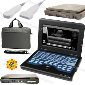 Us Fedex fda Portable Laptop Machine Digital Ultrasound Scanner 2 Probe cms600p2